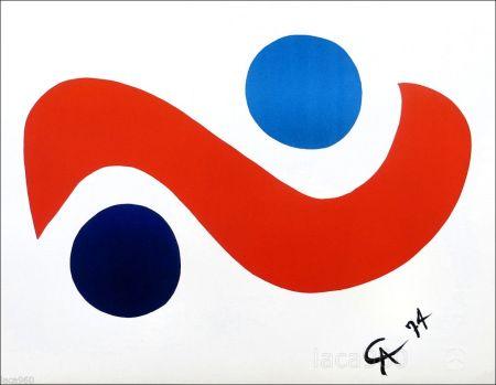 Litografia Calder - Skybird