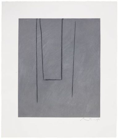 Acquaforte E Acquatinta Motherwell - Slate Gray Pintura