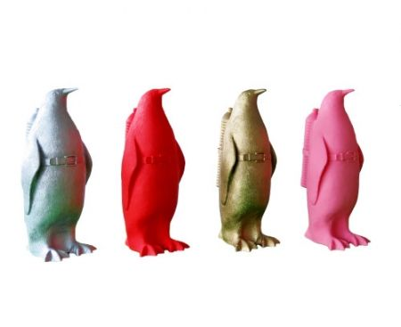 Multiplo Sweetlove - Small cloned penguin with water bottle
