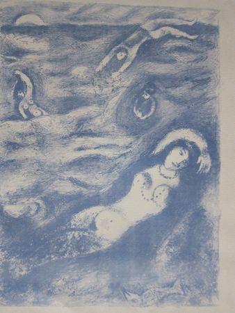 Litografia Chagall - So i came forth....