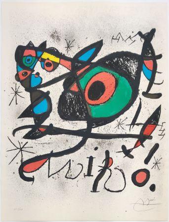 Litografia Miró - SOBRETEIXIMS I ESCULTURES