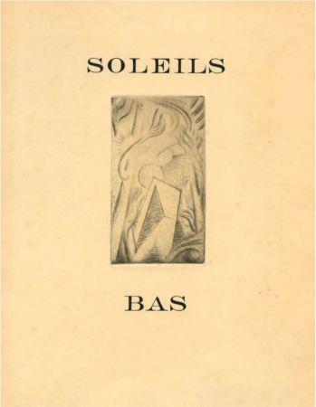 Libro Illustrato Masson - SOLEILS BAS. Le premier livre illustré par André Masson (1924).
