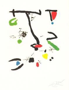Incisione Miró - Son Abrines
