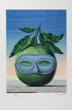 Litografia Magritte - Souvenir De Voyage (Memory Of A Voyage)