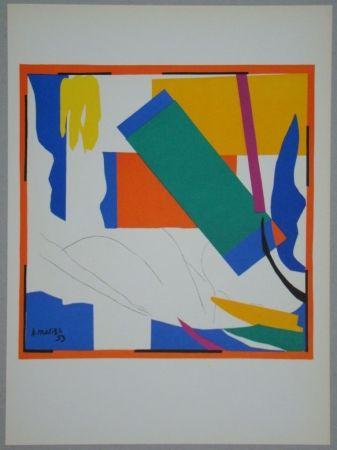 Litografia Matisse - Souvenir d'Océanie