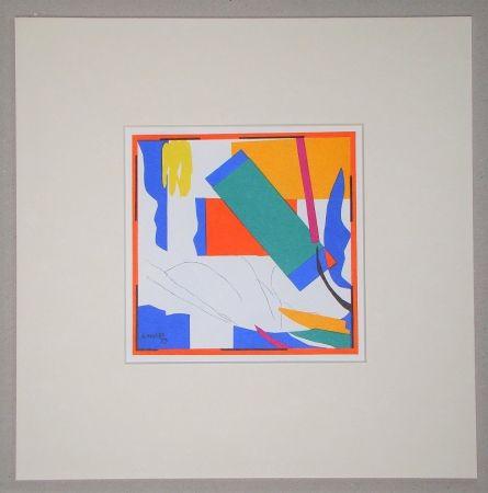 Litografia Matisse (After) - Souvenir d'Océanie - 1953