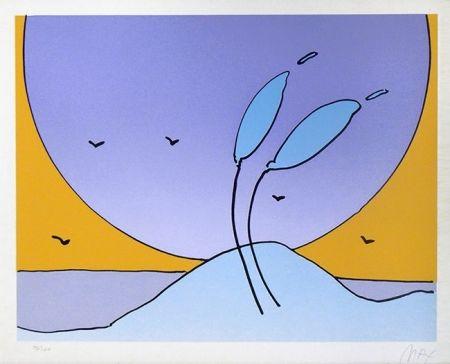 Serigrafia Max - SPACE FLOWERS II