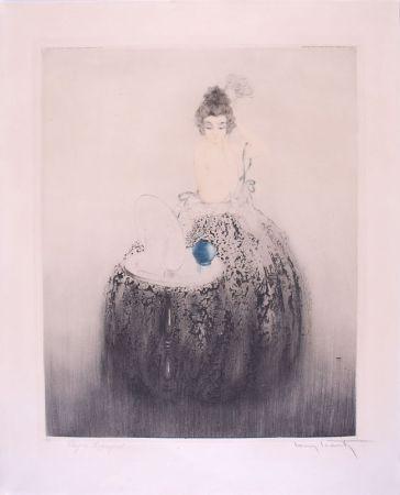 Acquaforte Icart - Spanish Comb (Blue vanity) - Peigne Espagnol
