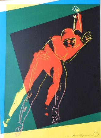 Serigrafia Warhol - Speed Skater