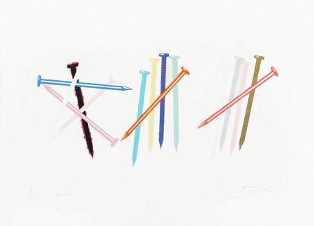 Litografia Rosenquist - SPIKES