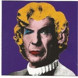 Serigrafia Mr. Brainwash - Spock (Wig)