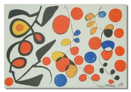 Litografia Calder - Spring Carnival