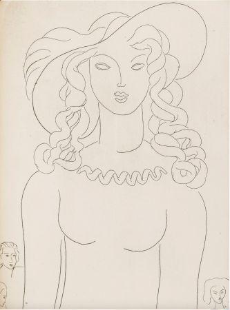 Libro Illustrato Matisse - Stéphane Mallarmé : POÉSIES. Albert Skira 1932.