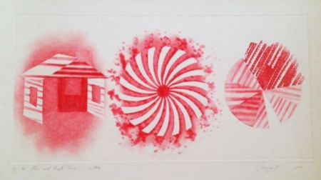 Acquatinta Rosenquist - Star And Empty House - 2 State