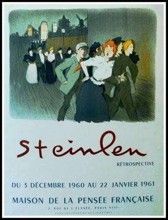 Manifesti Steinlen - STEINLEN - MAISON DE LA PENSÉE FRANÇAISE, RÉTROSPECTIVE