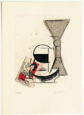Incisione Valdés - Still Life II