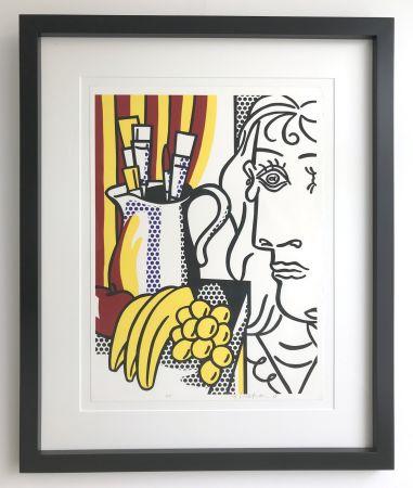 Serigrafia Lichtenstein - Still life with Picasso