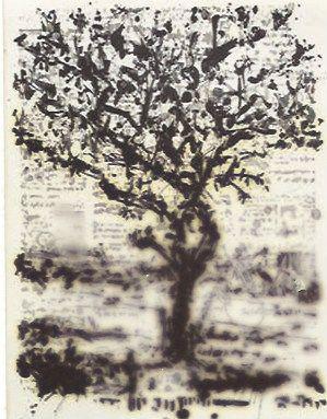 Incisione Kentridge - Stone Tree II