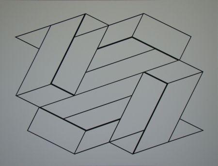 Serigrafia Albers - Strukturale Konstellation