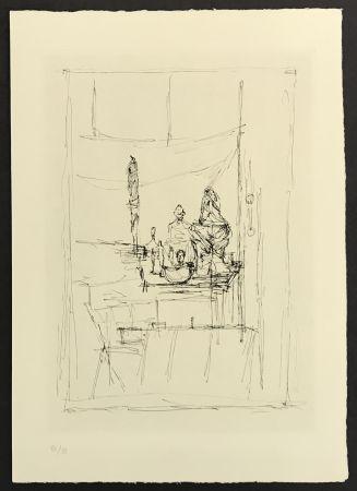 Incisione Giacometti - Studio from La Magie Quotidienne