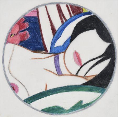 Non Tecnico Wesselmann - Study For Vivienne