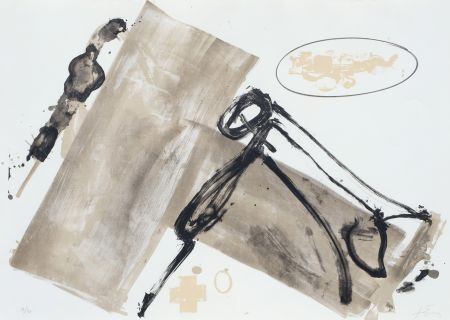Litografia Tapies - Suite 63 X 90 (No 1)