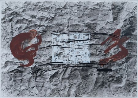 Litografia Tapies - Suite 63 X 90 (No 10)