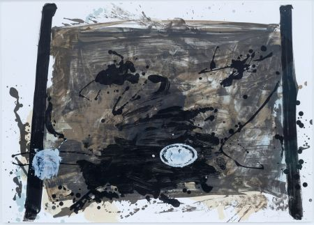 Litografia Tapies - Suite 63 X 90 (No 2)