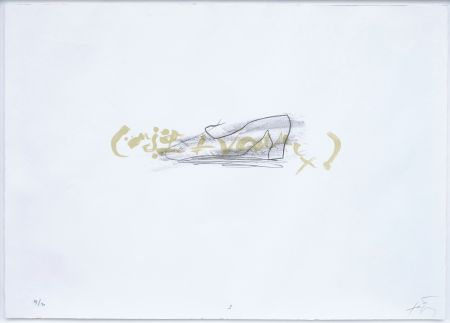 Litografia Tapies - Suite 63 X 90 (No 3)
