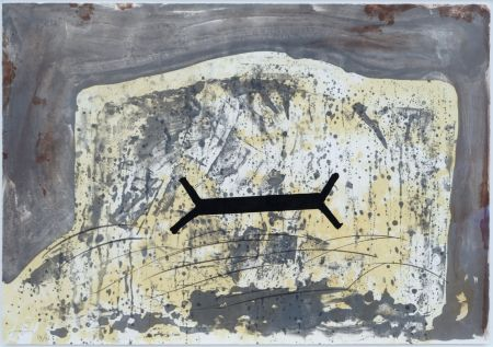 Litografia Tapies - Suite 63 X 90 (No 6)