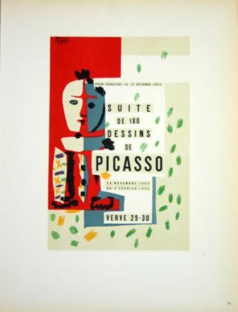Litografia Picasso (After) - Suite de 180  Dessins  1954