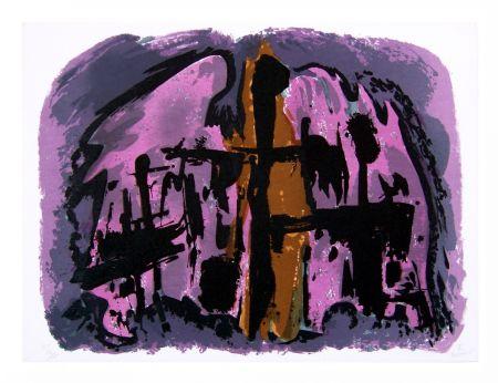 Litografia Manessier - Suite de Pâques