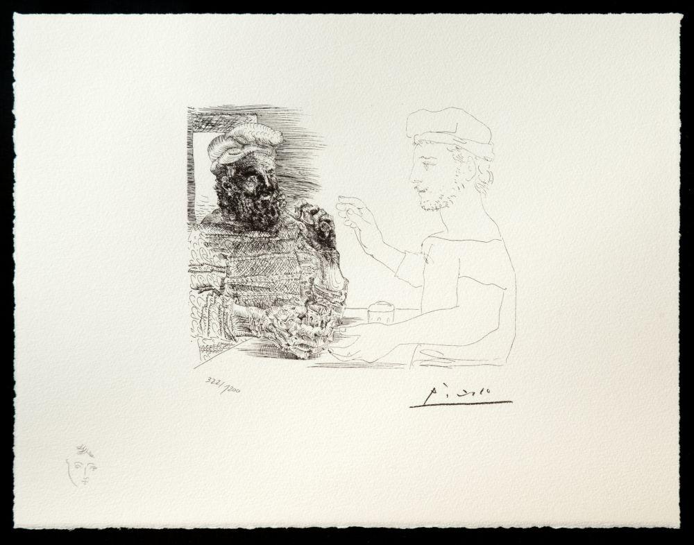 Litografia Picasso (After) - Suite Vollard