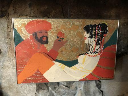 Multiplo Fiume - Sultano e Odalisca