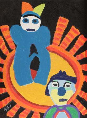 Incisione Appel - Sun of the incas