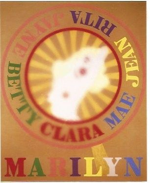 Serigrafia Indiana - Sunburst Marilyn