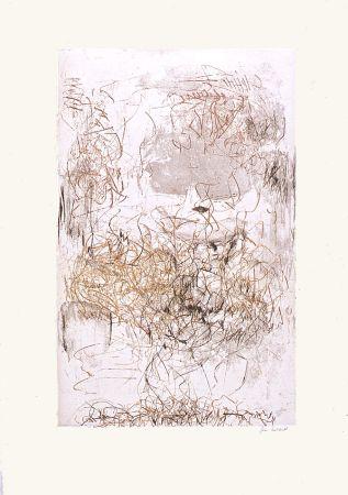 Acquaforte E Acquatinta Mitchell - Sunflowers 7