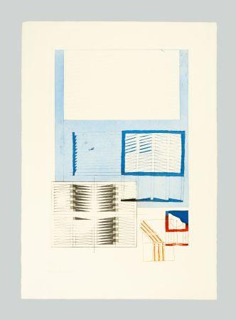 Litografia Bonalumi - Superficie