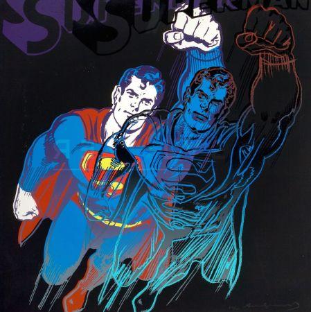 Serigrafia Warhol - Superman (FS II.260)