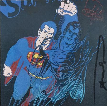 Serigrafia Warhol - Superman