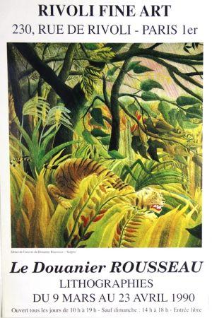 Offset Rousseau - Surpris  Rivoli Fine Art Galery