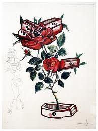 Punta Secca Dali - Surrealistic Flowers, 539, Rosa e morte floriscens