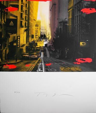 Litografia Soulie - Sutter Lithographie De Tony Soulie