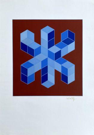 Serigrafia Vasarely - Sylla-6