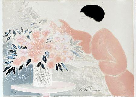 Litografia Brasilier - Symphonie en Rose
