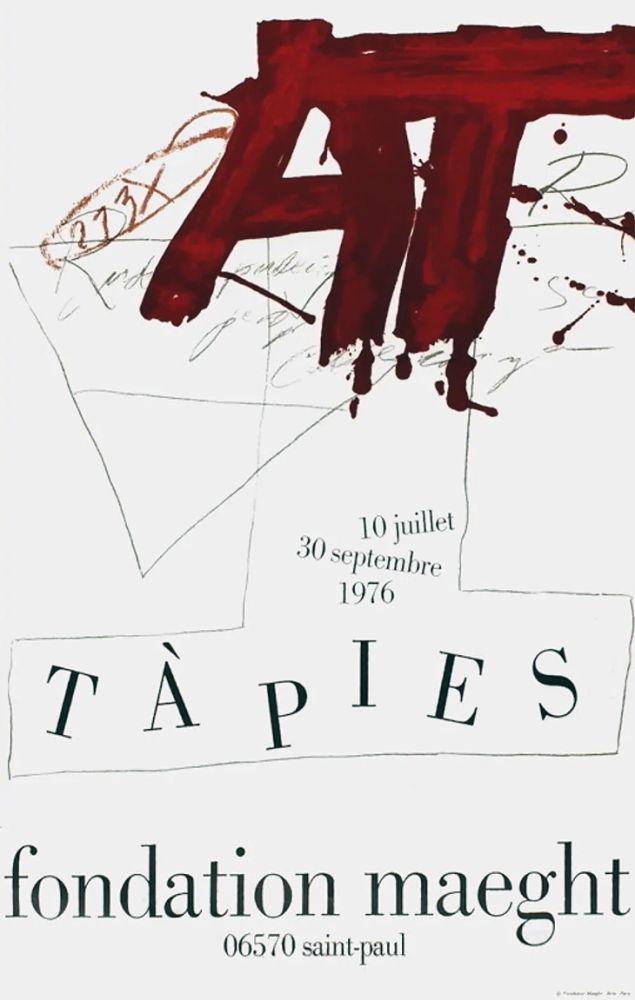 Manifesti Tàpies - TÀPIES Expo 76 - Fondation Maeght