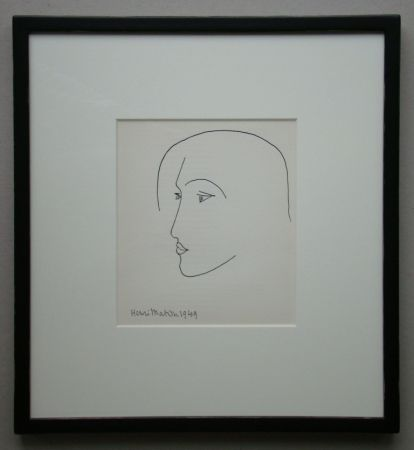 Litografia Matisse - Tête, 1949