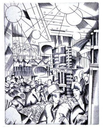 Libro Illustrato Laboureur - Tableaux contemporains:  Tableau des Courses, de la Boxe, de la Venerie, de l'Amour Venal, des Grands Magasins, de la Mode, de l'Au-Delà, du Palais, de la Bourgeoisie