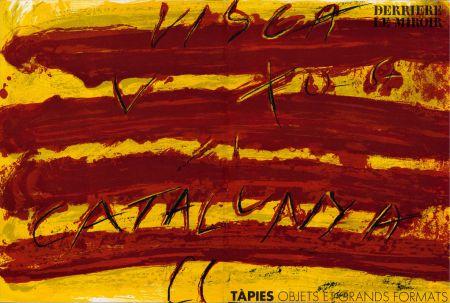 Libro Illustrato Tapies - TAPIES : Objets et grands formats. DERRIÈRE LE MIROIR N° 200. 1972