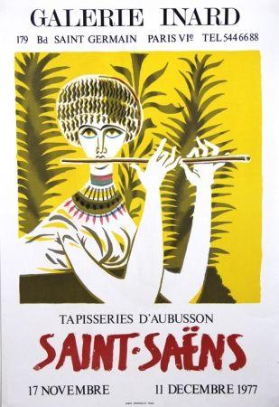 Litografia Saint Saens - Tapisseries D'Aubusson Galerie Inard